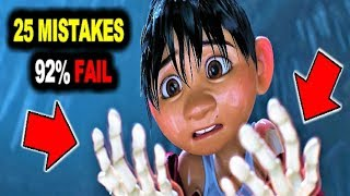 25 BIGGEST MISTAKES in COCO 🎸 92% WILL FAIL TO FIND THEM