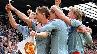 Manchester United v Liverpool 1-4 Highlights Season 08-09