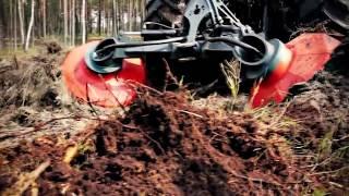 Bog Monsters: Mega Tractor Bracke Forest T26 - Disc Trencher