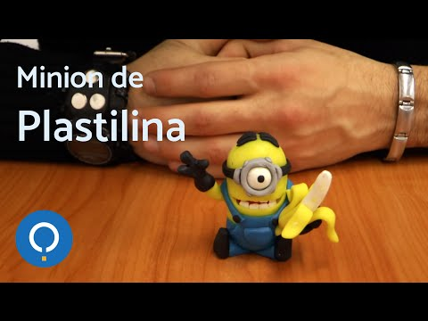 Manualidades de plastilina Minion 1 3
