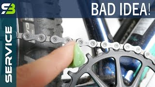 3 Things NOT To Grease On Your Bicycle! Grease vs Lube...