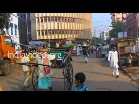 Kolkata city view  Calcutta  West Bengal