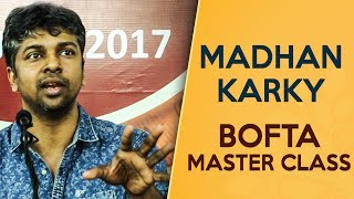 Madhan Karky opens up on Lyric Engineering in detail | BOFTA Masterclass
