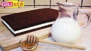 Gâteaux kinder tranche au lait