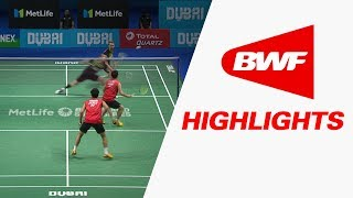 Dubai World Superseries Finals 2017 | Badminton Day 1 – Highlights