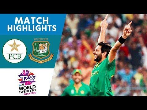 ICC #WT20 Pakistan vs Bangladesh  Match Highlights