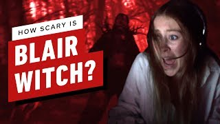 How Scary is the Blair Witch Game?
