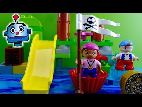 Jake y los Piratas LEGO Pack 2 Juegos de Bloques Juguetes de Jake