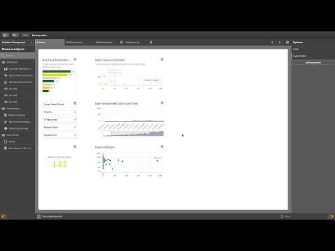 Creating a mashup template - Qlik Sense