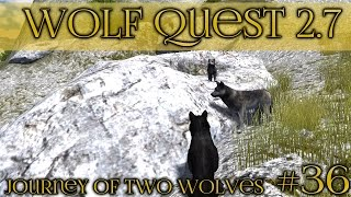 The Lone Wolf Pup || Wolf Quest 2.7 - Brothers Journey || Episode #36