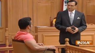Salman Khan Asks Rajat Sharma about His Life