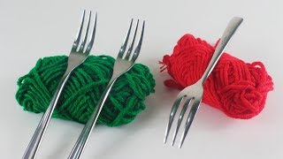 উলের সুতা দিয়ে ইউনিক ক্র্যাফট আইডিয়া | DIY Art and Craft With Wool