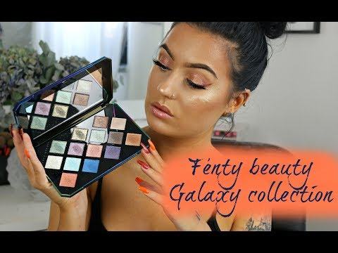 Fenty Beauty Galaxy collection | First impression