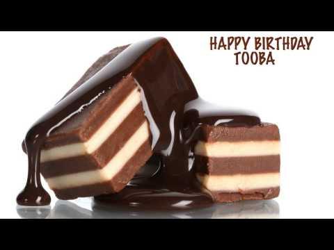 Tooba  Chocolate - Happy Birthday