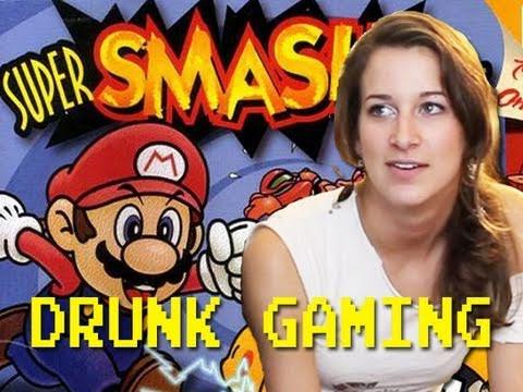 Drunk Gaming Super Smash Bros