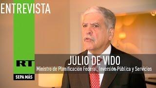 Entrevista con el ministro de Planificación de Argentina, Julio De Vido