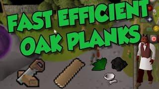 OSRS Ironman Butler Method for FAST EFFICIENT Oak Planks!