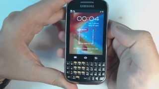 Samsung Galaxy Ch@t  B5330 hard reset