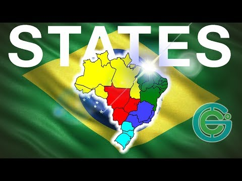 The states of Brazil explained Geography Now