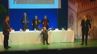 Watch Monty Python reunion announcement in full