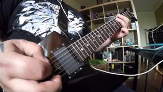 Metallica - The End Of The Line (partial cover), Mesa Boogie MarkV:25