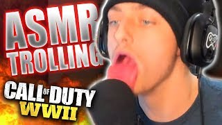Relaxing People with ASMR on Call of Duty! *FUNNY REACTIONS*