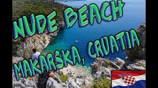 The Best Hidden Nude Beach Near Makarska, Croatia ~ Through Canadian Eyes