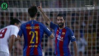 اهداف مبارة برشلونة  و إشبيلية 3-0   كأس السوبر الإسباني 2016  التتويج    17-8-2016