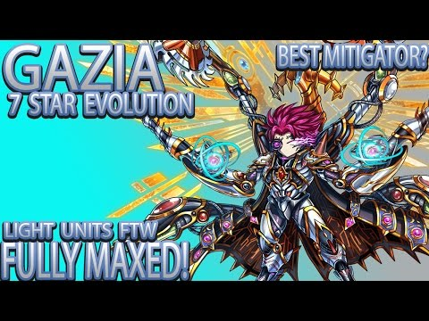 Brave Frontier   Episode #503: Gazia Evolution! + Maxed!