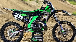 Project 2006 Kawasaki KX250 2 Stroke - Motocross Action Magazine