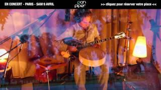 Abaji - Teaser - concert - Paris - Pan Piper - 9 avril 2016