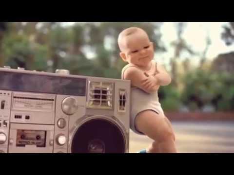 İşte size bebek dansı