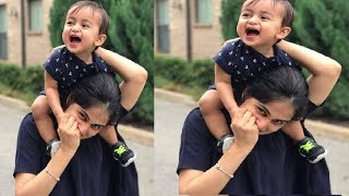 Genelia and Riteish Deshmukh With Son Very Cute Video |  Actress Genelia D'Souza Family