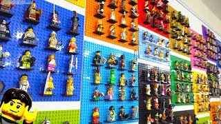 All 470+ LEGO Collectible Minifigures (CMF) display update!