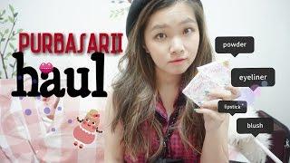 Purbasari One Brand Tutorial - HAUL - Katherin [ bahasa Indonesia ]