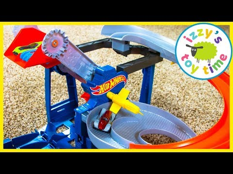 Cars for Kids Hot Wheels Factory Raceway and Super Station Fun Toy Cars for Kids
