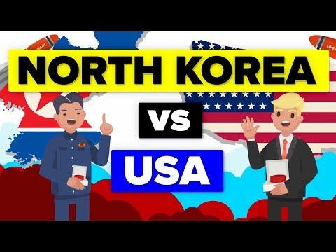 North Korea vs United States Updated 2018 Military Comparison