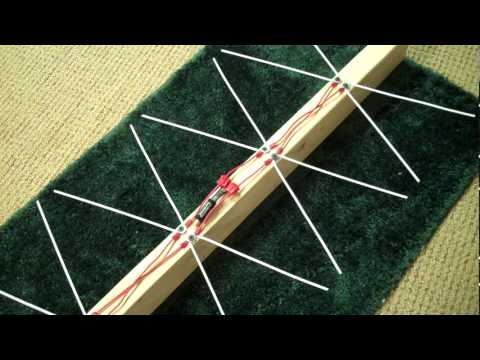 How to build a 4 bay Bowtie Antenna part 2