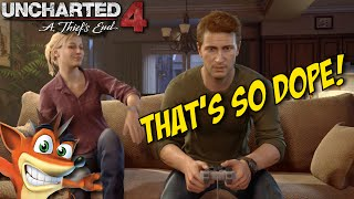 OH SH#T!! WE PLAYING PLAYSTATION 1!!! [UNCHARTED 4] [#02]