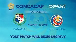 LIVE CONCACAF WCQ: Panama vs. Costa Rica