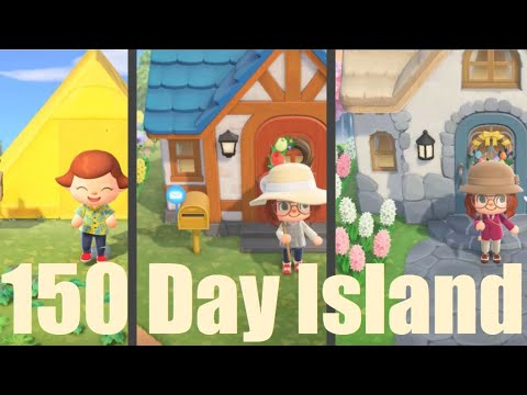 150 Days in 30 Minutes My Island s Evolution in Animal Crossing New Horizons