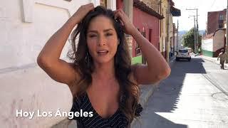 Detrás De  Cámaras Con Carmen Villalobos De Sin senos Sí Hay Paraíso