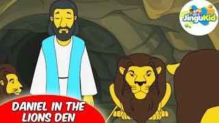 Best Bible stories for kids | Daniel In The Lions Den  | Animation | Preschool | Kids | Kindergarten