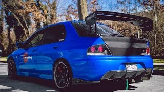 660 WHP Evo 8 launch, acceleration, and idle