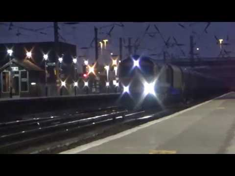 GBRf 66762 Coal Train passing Doncaster