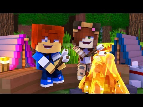 Minecraft Recess - CAMPING WITH TINA !? (Minecraft Roleplay - Episode 1)