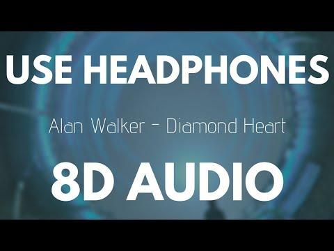 Alan Walker - Diamond Heart (8D AUDIO)
