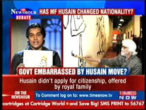 Xxx Mp4 Rahul Easwar Is Rape Of INDIA By MF Husain Freedom Timesnow 3gp Sex
