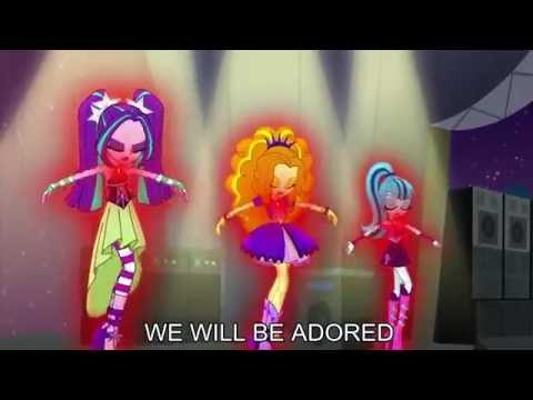 Xxx Mp4 Welcome To The Show With Lyrics My Little Pony Equestria Girls Rainbow Rocks Song 3gp Sex