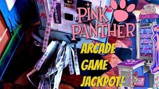 I WON 1000 ARCADE TICKETS AT PINK PANTHER JEWEL HEIST! | Arcade Games Fun | Jdevy